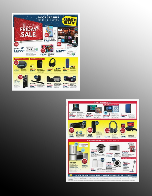 best buy big sale flyer