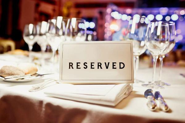bristol pavilion banquet place card