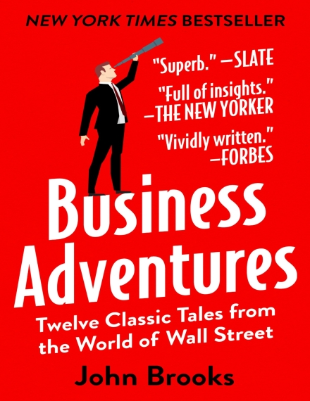 Business Adventures Book Cover.