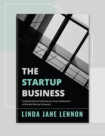 Business Book Cover Template