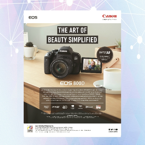 canon photography flyer
