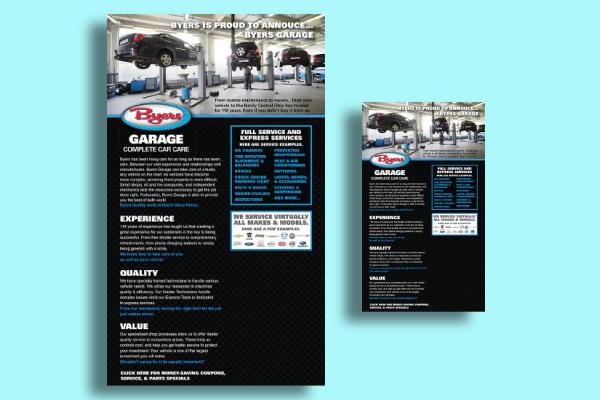 car express service flyer