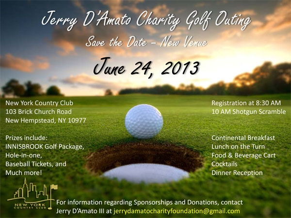 charity golf outing save the date invitation
