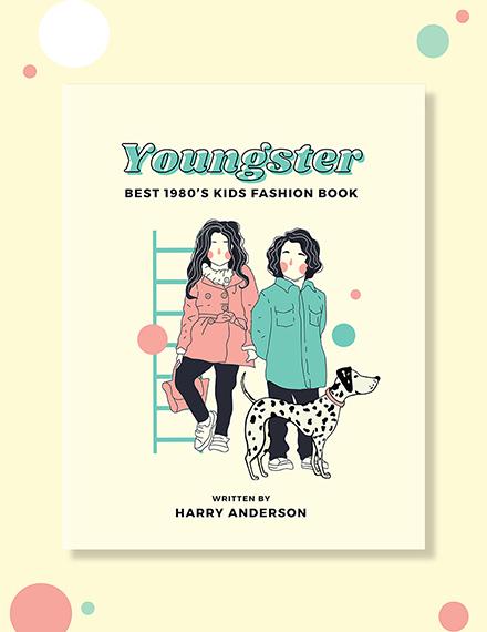 Childrens Fashion Book Cover