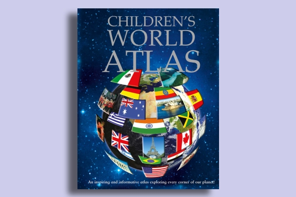 childrens world atlas book cover