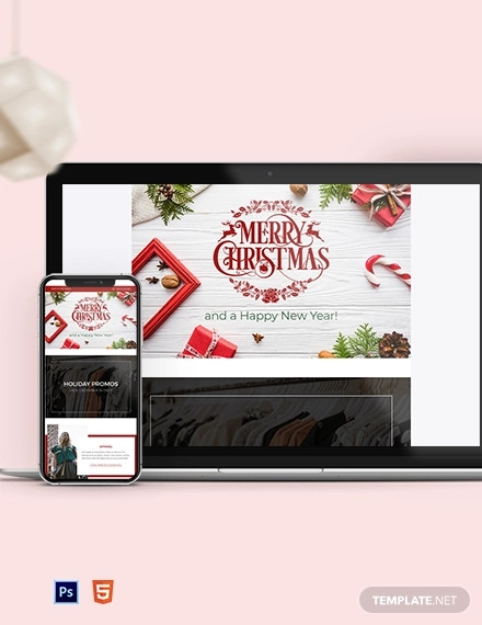 16+ Christmas Email Newsletter Examples, Templates & Design ...
