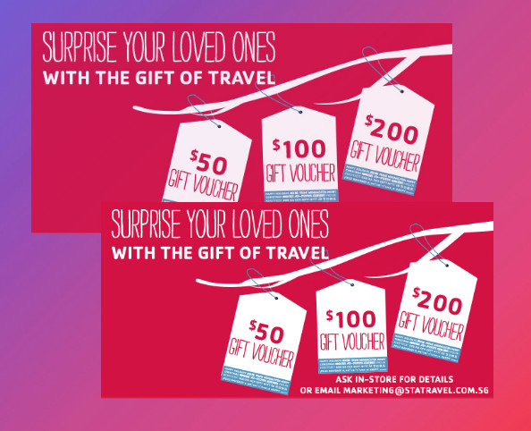 christmas travel voucher