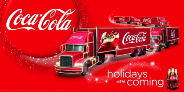 coca cola christmas newsletter