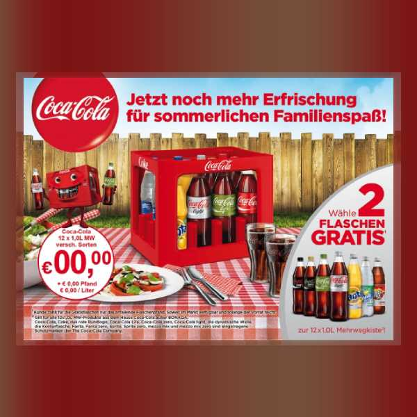 coca cola sales flyer
