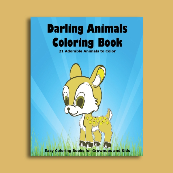 coloring photo book cover