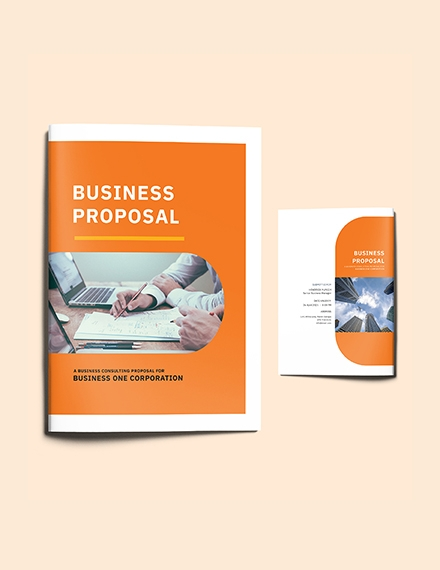 consulting business proposal template