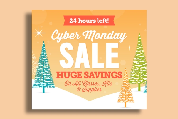 craftsys cyber monday sale banner