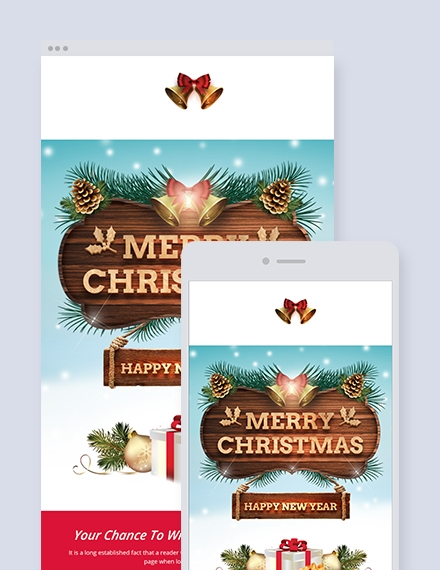 creative christmas email newsletter
