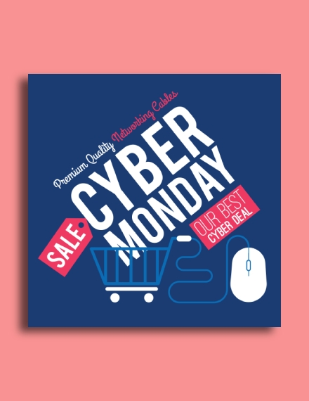 cyber monday special sale email template