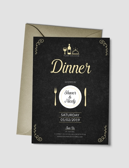 21 Invitation Card Examples Templates And Design Ideas
