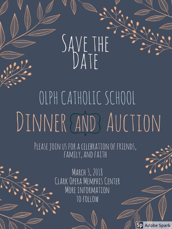 dinner and auction save the date invitation