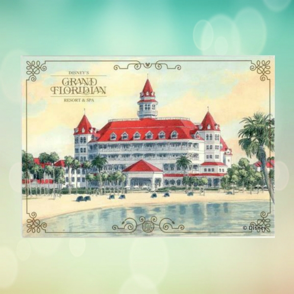 disneys grand floridian resort and spa business card