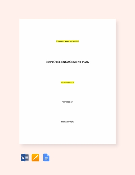 employee engagement plan