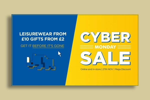 exclusive cyber monday sale ad