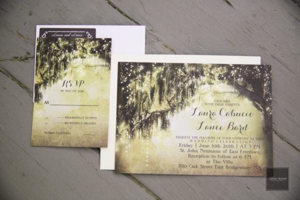 Fantasy Save the Date Invitation