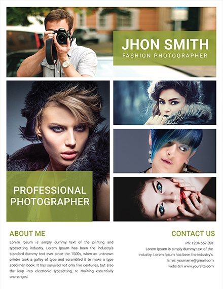 fashion photography flyer1