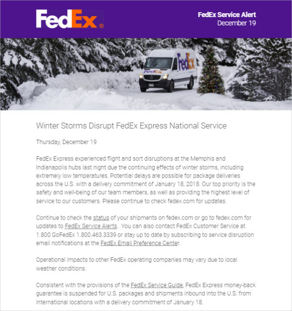 fedex holiday newsletter1
