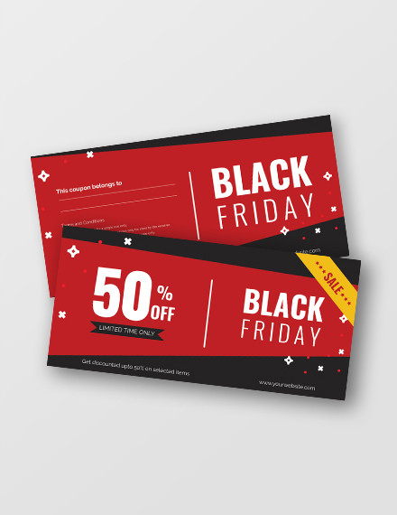 free black friday voucher template