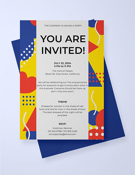 Free 13 Invitation Email Examples Samples In Publisher