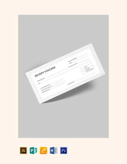 free receipt voucher template