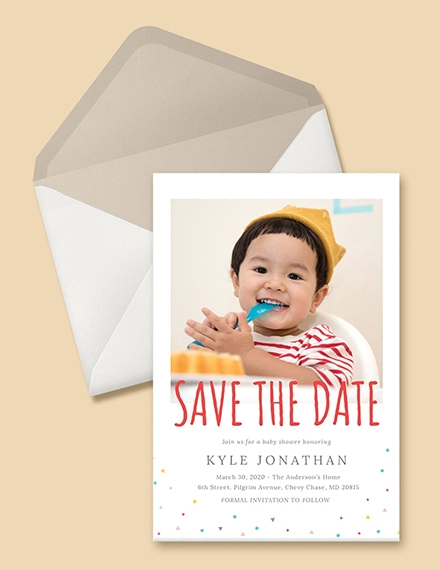 free save the date birthday invitation sample
