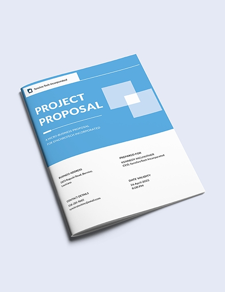 free small business proposal template1