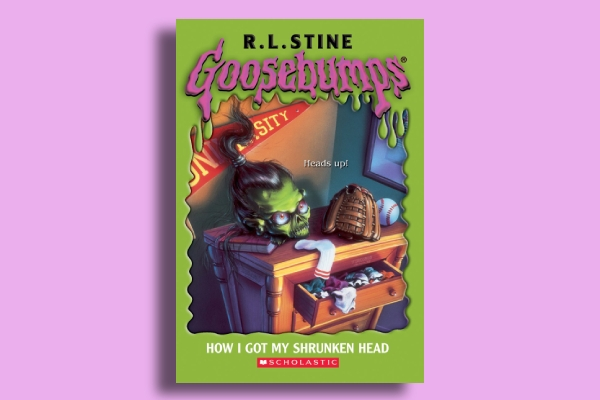 goosebumps book cover