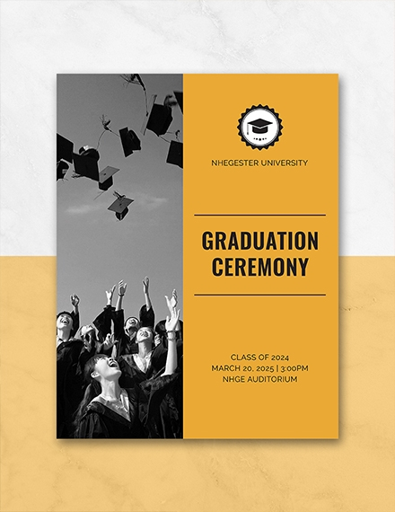 graduation programs templates