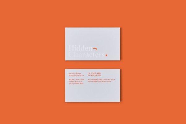 graphic designer business card 1