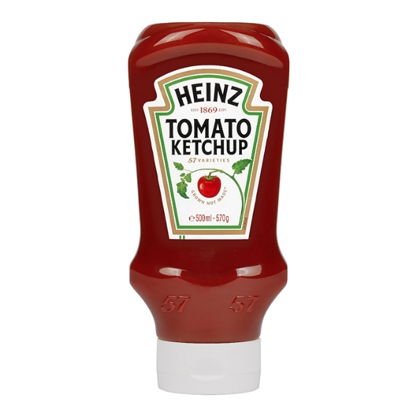 heinz tomato ketchup product label