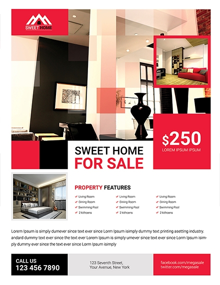 Home Sale Flyer