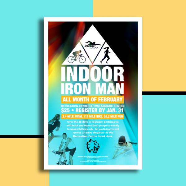 indoor iron man fitness flyer