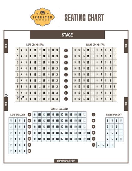 ivoryton playhouse seating chart