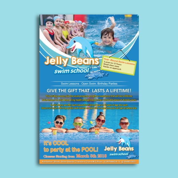 jelly beans day care flyer