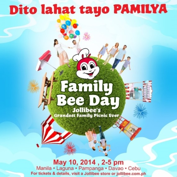 jollibee family day marketing flyer 1