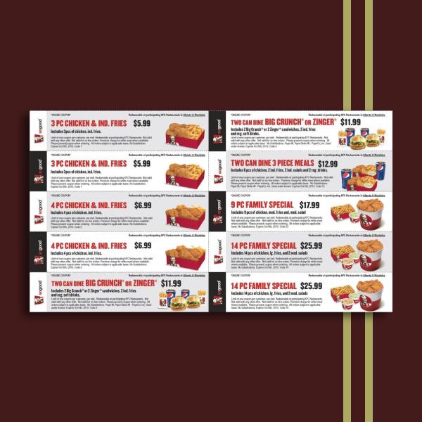 kfc food voucher