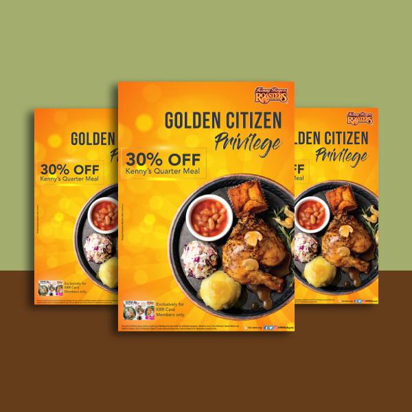 kenny roger roasters food voucher