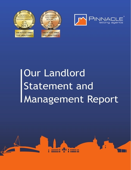 landlord statement and management report example