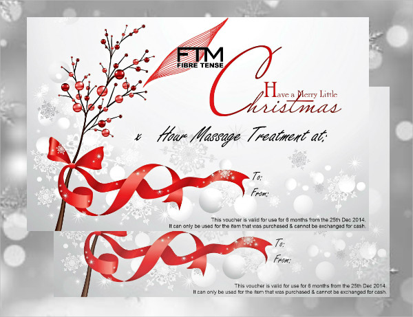 massage christmas voucher1