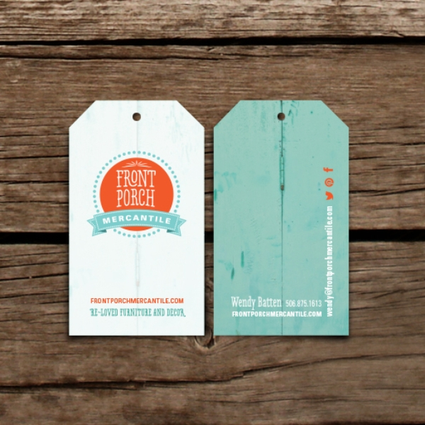 Matte Laminated Business Card