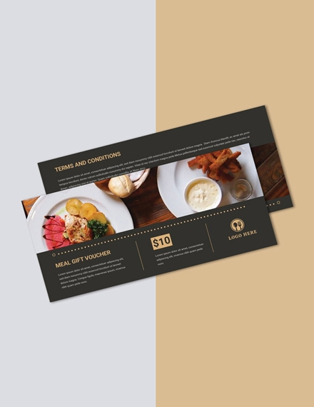 meal gift voucher