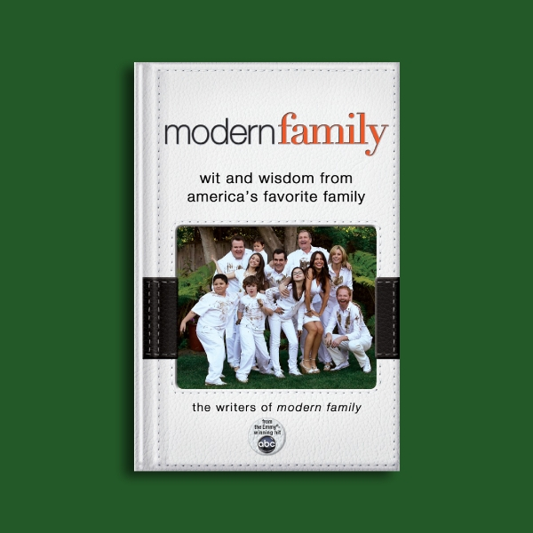 modern family photo book cover
