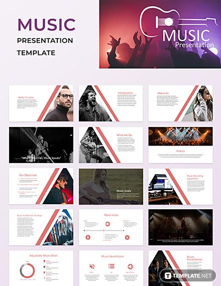 music powerpoint presentation