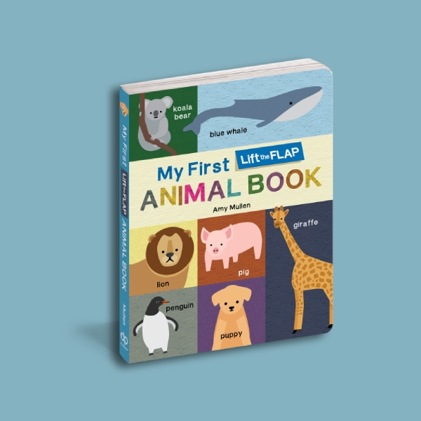 my first animal photo book cover
