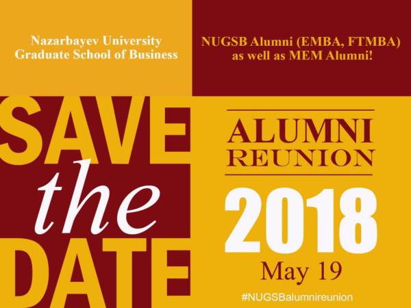 nugsb alumni reunion 2018